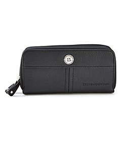 Stone Mountain® Ludlow Large Double Zip Around Wallet