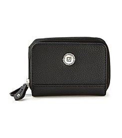 Stone Mountain® Ludlow Small Double Zip Around Wallet