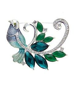 Napier® Boxed Blue Bird Pin