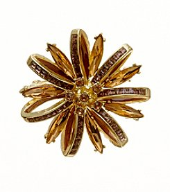 Napier® Boxed Flower Pin