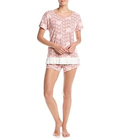 Zoe&Bella @BT Butterfly Pajama Short Set