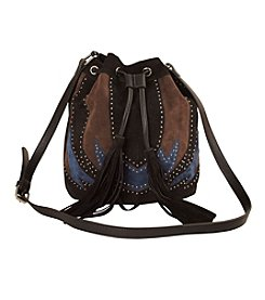 Imoshion Pieced Bag with Studs and Fringe