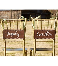 Kate Aspen Happily Ever After Chair Signs