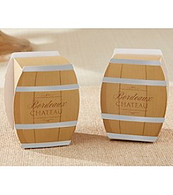 Kate Aspen Set of 24 Wine Barrel Favor Boxes