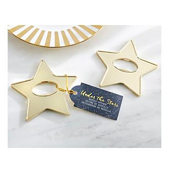 Kate Aspen Set of 12 Gold Star Bottle Openers