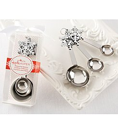 Kate Aspen Set of 12 Snowflake Measuring Spoons