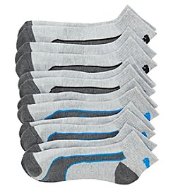 PUMA® Men's 6-Pack Quarter Cut Socks