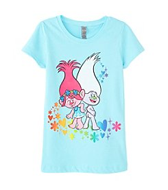 DreamWorks Trolls™ Girls' 4-6X Rainbow Troll Short Sleeve Tee