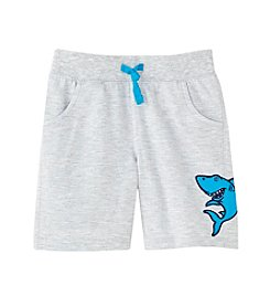 Mix & Match Boys' 2T-4T Shark Knit Shorts