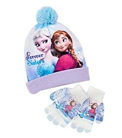 Disney® Girls' Frozen Hat and Gloves Set