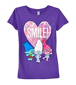 DreamWorks® Trolls Girls' 7-16 Smile Troll Short Sleeve Tee