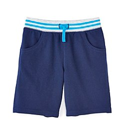 Mix & Match Boys' 2T-7 Solid Knit Shorts