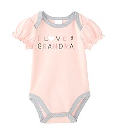 Cuddle Bear® Baby Girls' I Love Grandma Bodysuit