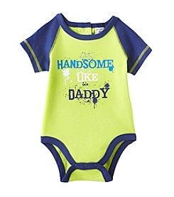 Cuddle Bear® Baby Boys' Handsome Like Dad Bodysuit