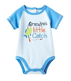 Cuddle Bear® Baby Boys' Grandpa's Catch Bodysuit