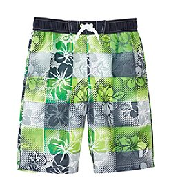 Exertek® Boys' 8-20 Printed Swim Trunks