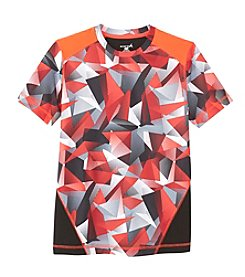 Exertek® Boys' 8-20 Short Sleeve Printed Tee