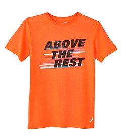 Exertek® Boys' 8-20 Short Sleeve Above The Rest Graphic Tee