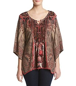 Oneworld® Flutter Sleeve Top