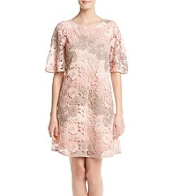 Taylor Dresses Floral Lace Dress