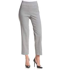 Alfred Dunner® Proportioned Short Check Allure Pants