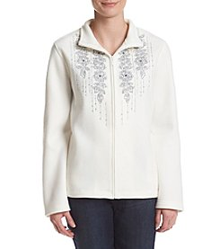 Alfred Dunner® Northern Lights Floral Trellis Jacket