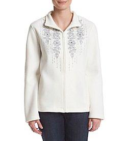 Alfred Dunner® Northern Lights Floral Trellis Jacket