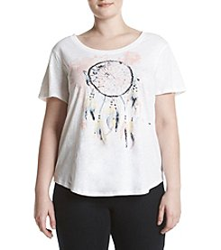 Relativity® Plus Size Dream Catcher Tee