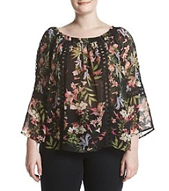 Relativity® Floral Off Shoulder Top