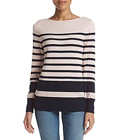 Studio Works® Boatneck Stripe Sweater