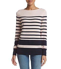 Studio Works® Boatneck Stripe Sweater