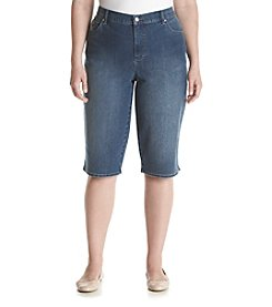 Gloria Vanderbilt® Plus Size Amanda Embellished Skimmers