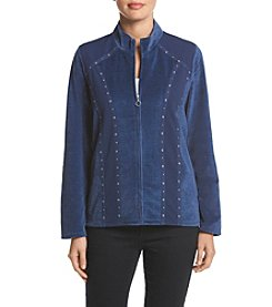 Alfred Dunner® Petites' Spliced Jacket