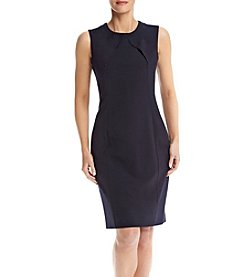 Nine West® Sheath Crepe Dress