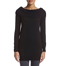 MICHAEL Michael Kors® Off The Shoulder Cowlneck Sweater