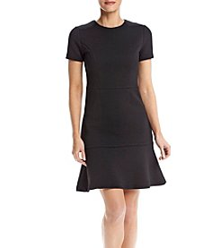 MICHAEL Michael Kors® Crew Neck Flounce Dress