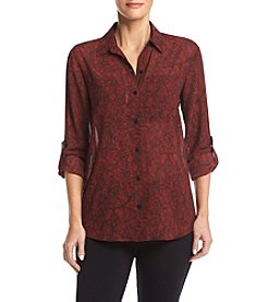 Michael Kors® Button Front Blouse