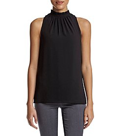 MICHAEL Michael Kors® Gathered Neckline Tank