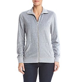 MICHAEL Michael Kors® Velour Zip Up Jacket