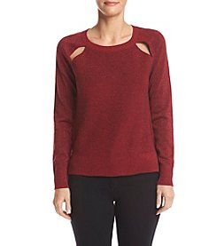 MICHAEL Michael Kors® Cut Out Sweater