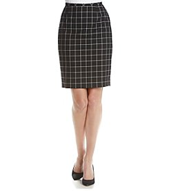 Tommy Hilfiger® Windowpane Skirt