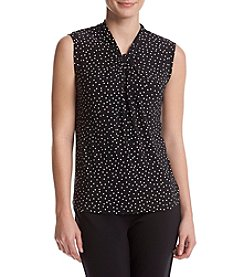 Tommy Hilfiger® Dotted Knot Blouse