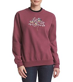 Breckenridge® Chickadees Fleece Sweatshirt