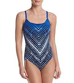 Calvin Klein Ombre One Piece Swimsuit