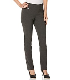Rafaella® Petites' Manhattan Twill Tweed Pants