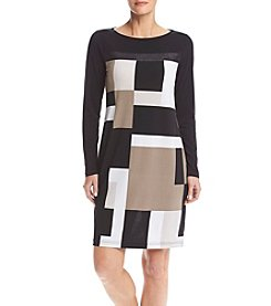Jones New York ®Colorblock Dress