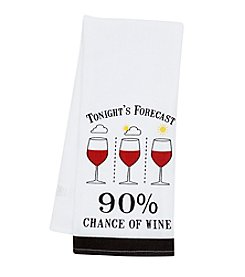 Chef's Quarters® Wine Forecast Kitchen Towel