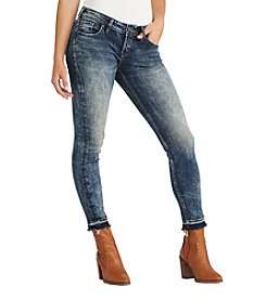 Silver Jeans Co. Aiko Mid Rise Ankle Skinny