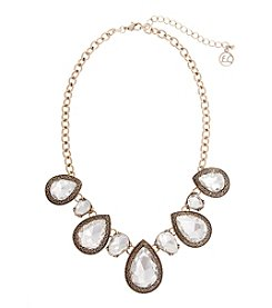 Erica Lyons® Estate Sale Teardrop Stones Necklace