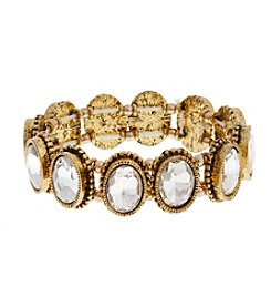 Erica Lyons® Estate Sale Stone Stretch Bracelet
